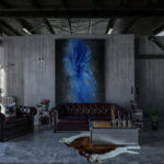 décoration idéale en harmonie avec une chaise industrielle